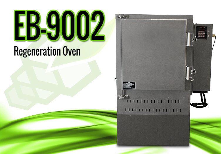 EvacuBlast DPF Cleaning Systems – 9002 DPF Cleaning Regeneration Oven