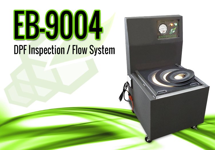 EvacuBlast DPF Cleaning Systems – 9004 DPF Cleaning Inspection / Flow System