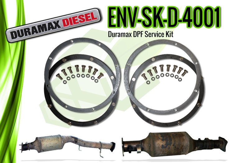Duramax DPF Service Kit for Model Years 2007 & Up - ENV-SK-D-4001