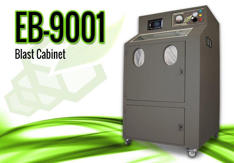 EvacuBlast DPF Cleaning Equipment - 9001 Blast Cabinet