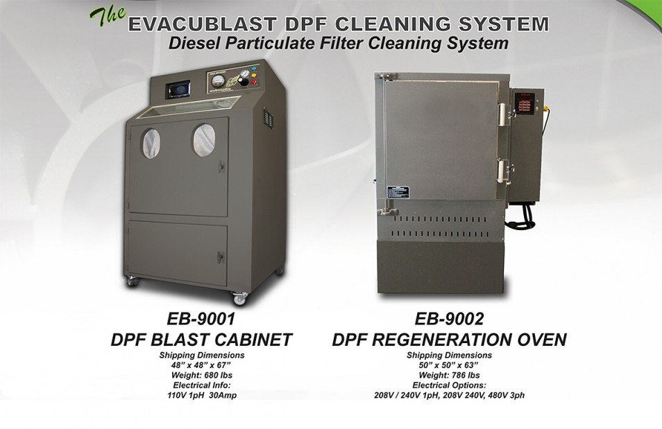 Diesel Particulate Filter Cleaning Machine