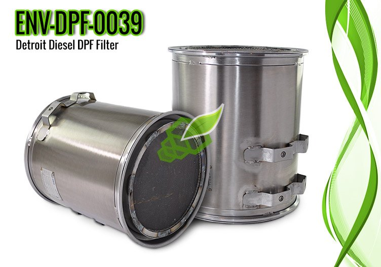 Detroit Diesel DPF Filter for DD 15 Engine – ENV-DPF-0039