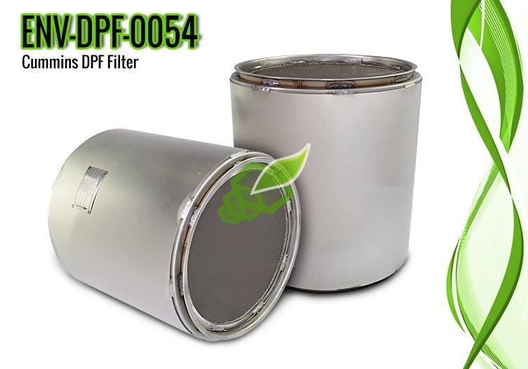 Cummins DPF Filter for ISC Series Engines – ENV-DPF-0054