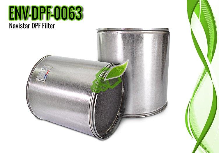 Navistar DPF Filter for MaxxForce 13 Engine, OE Part 2601229C91 – ENV-DPF-0063