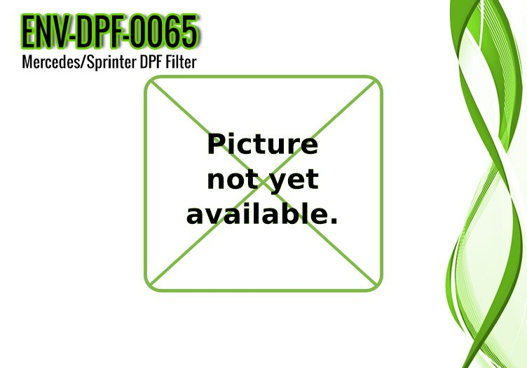 Mercedes Sprinter DPF Filter, 3.0L Engine, OE Part A9064901592 – ENV-DPF-0065