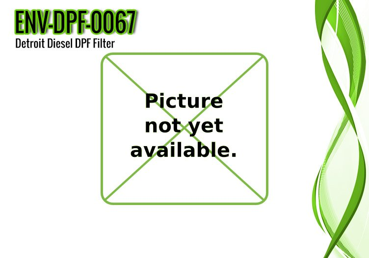 Detroit Diesel DPF Filter DD13 / DD15, OE Part EA6804910795 – ENV-DPF-0067