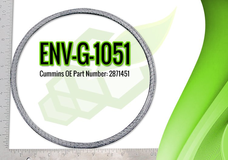 Cummins DPF Gasket OE Part 2871451 - ENV-G-1051