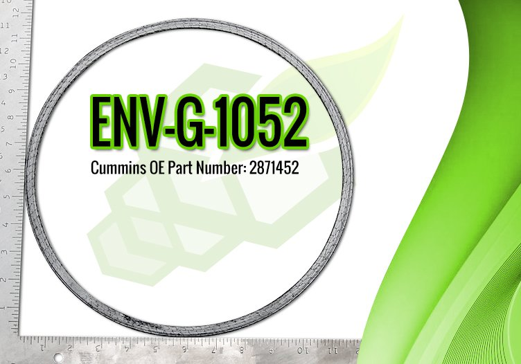 Cummins DPF Gasket OE Part 2871452 - ENV-G-1052