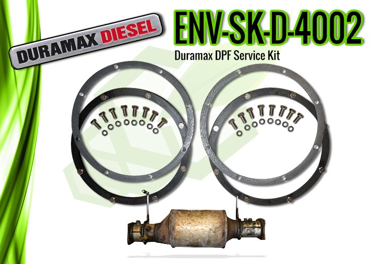 Duramax DPF Service Kit for Model Years 2007 & Up – ENV-SK-D-4002