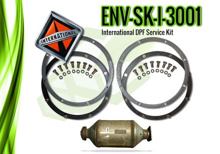 International DPF Service Kit for International 3001 – ENV-SK-I-3001