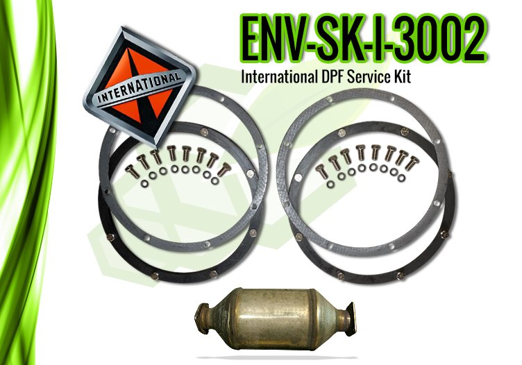 International DPF Service Kit, International 3002 – ENV-SK-I-3002