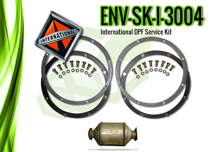 International DPF Service Kit, International 3004 – ENV-SK-I-3004