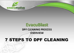 Evacublast System from Enviromotive - DPF Cleaning Process Overview