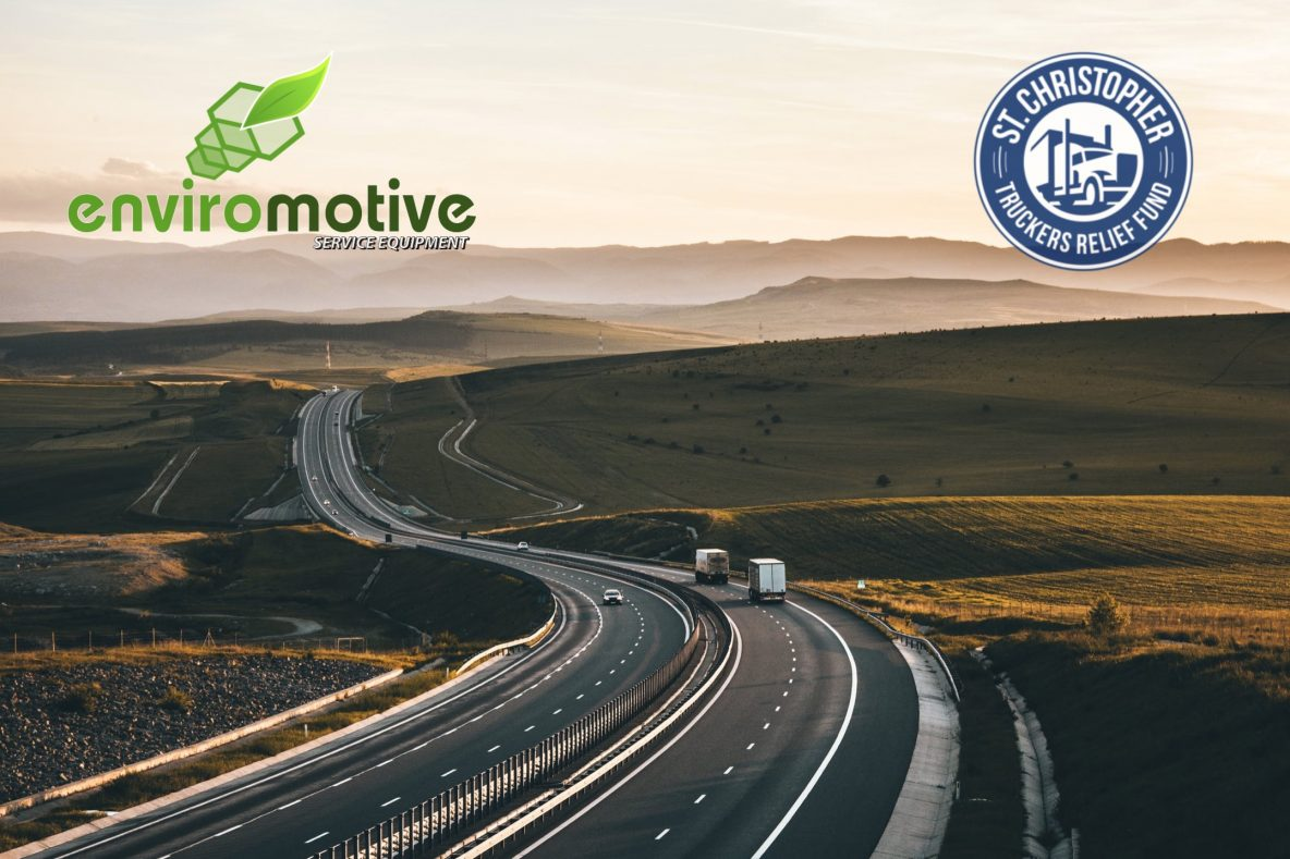 Help Enviromotive Help Truckers This Holiday Season - Help Enviromotive help The St. Christopher Truckers Development and Relief Fund (SCF)