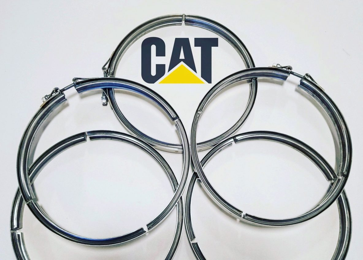 DPF Caterpillar Clamps Are Now in Stock at Wholesale Prices! - DPF Clamps by Caterpillar