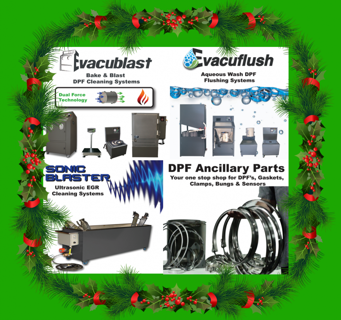 Save Money On Our Cleaning Equipment and On Your Taxes With This End of Year Promotion - DPF Cleaning Equipment Holiday Promotion